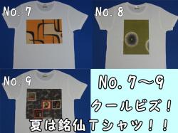 銘仙・銘仙Tシャツ